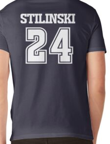 Stiles Stilinski Lacrosse Jersey - Back Mens V-Neck T-Shirt