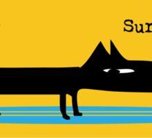 Surf Dog Sticker