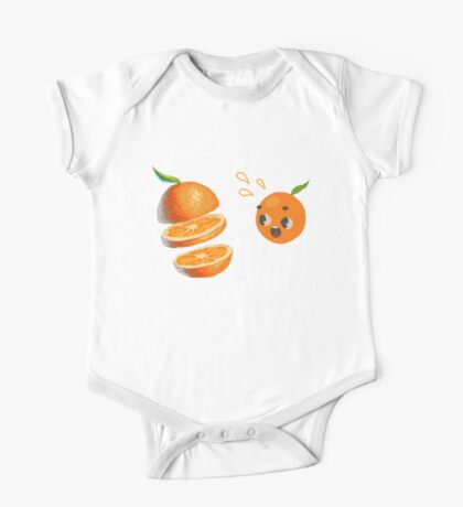 Oranges One Piece - Short Sleeve