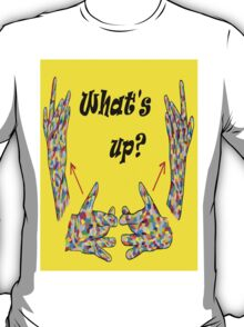ASL What's Up? T-Shirt