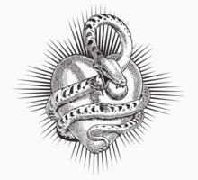 Snake & Heart by Zehda