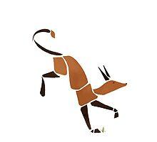 Dance of the Fox by rachelmartinart