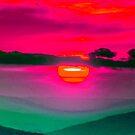 Wild Sunset by WienArtist