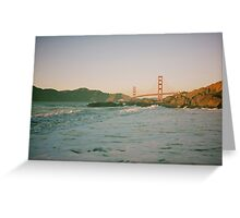 San Francisco waves Greeting Card