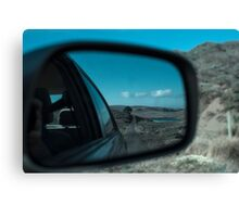 Rearview Landscape Canvas Print