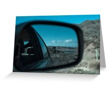 Rearview Landscape Greeting Card