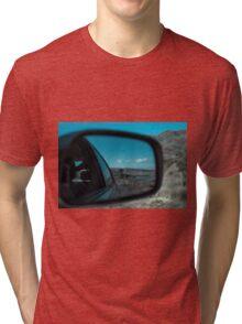 Rearview Landscape Tri-blend T-Shirt