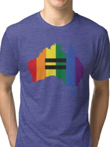 LGBT equality Australia Tri-blend T-Shirt