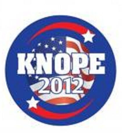 knope 2012 Sticker