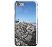 Rocky cliff iPhone Case/Skin
