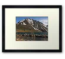 Lake Convict, Mammoth Lakes, CA Framed Print