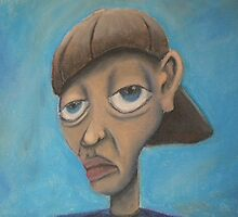 cratoonish portrait  by joshj