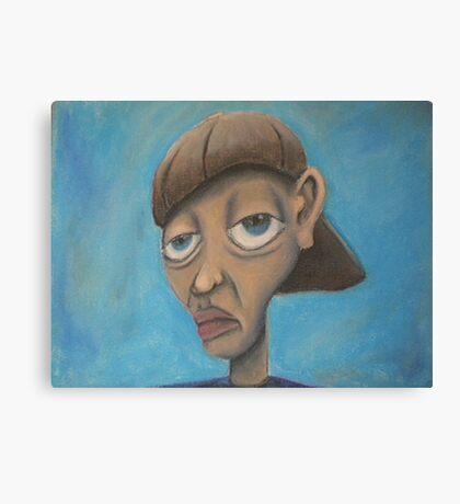 cratoonish portrait  Canvas Print