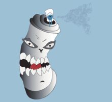 Spray Can With Attitude by Sam Kirby