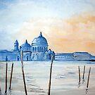 Santa Maria Della Salute, Venice by Beth A
