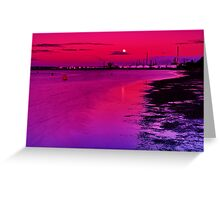 """Twilight Over Limeburners"" Greeting Card"