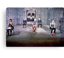 AK 47 perform at Art Unit 1983 Canvas Print