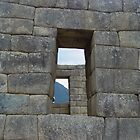 Terrace Door- Machu Picchu, Peru by Alima  Ravenscroft