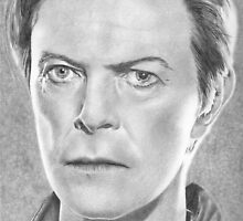 David Bowie by Karen Townsend