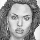 Angelina Jolie by Karen Townsend