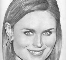 Emily Deschanel by Karen Townsend