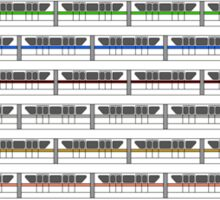 Monorail Fleet Sticker