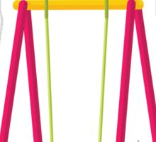 'Lonely, Vaguely Pedophilic Swing Set Seeks the Butts of Children Sticker