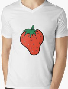 Superfruit Strawberry Merch Mens V-Neck T-Shirt