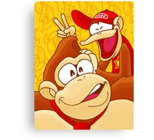 Ooh, banana! Canvas Print