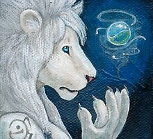 White Lion by bluebengal