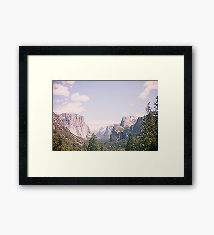 Yosemite beauty Framed Print
