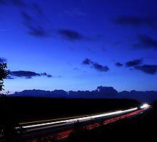 Overlook of I-90 by Erik Anderson