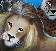 Lion - 'Jungle Animals'  by Selinah Bull