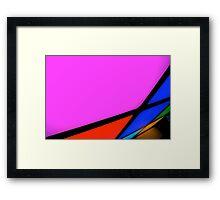 ~ rubix squares ~ Framed Print