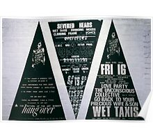 Three big triad posters for The Return of the Art Bunker Hangover  Poster
