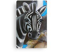 Zebra - 'Jungle Animals'  Canvas Print