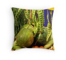 The Veggies Throw Pillow