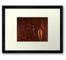 Massai Framed Print