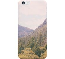 Yosemite forest iPhone Case/Skin