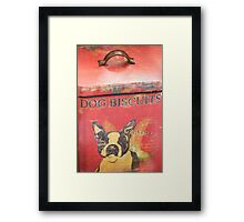 Dog Biscuits Framed Print