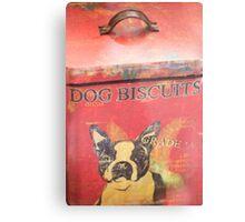 Dog Biscuits Metal Print