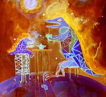 tea time on Mars by Marianna Tankelevich