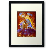 tea time on Mars Framed Print