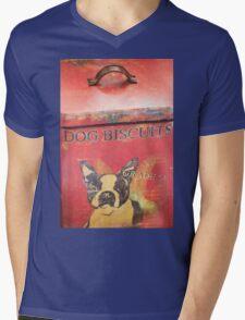 Dog Biscuits Mens V-Neck T-Shirt