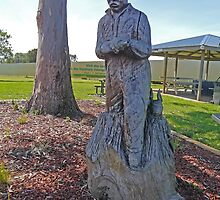 Ash Wednesday Memorial, Millicent, South Australia by Margaret  Hyde