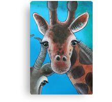 Giraffe - 'Jungle Animals'  Canvas Print