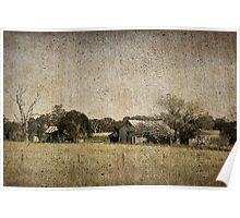 Rural Australia - vintage Poster