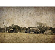 Rural Australia - vintage Photographic Print
