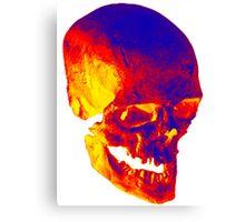 Skull Psycho Canvas Print