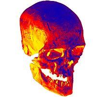 Skull Psycho Photographic Print
